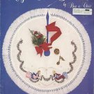 Cross Stitch Pattern Leaflet-Angel Tree Skirt-Christmas