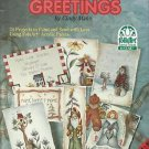 Decorative Tole Painting Patterns-Heart Felt Greetings-24 Projects-Christmas