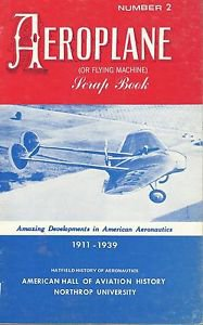 Hatfield History of Aeronautics-AEROPLANE Or FLYING MACHINE Scrap Book-# 2 1911-