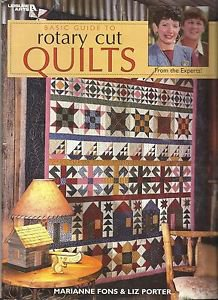 Quilt Instruction & Pattern Booklet-Basic Guide To Rotary Cut QUILTS