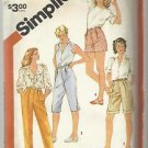 "Half Size Pattern-Set of Pants in Four Lengths In Half Sizes  20 1/2""-24 1/2"" UN"