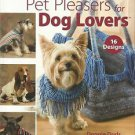 Knitting Patterns-PET PLEASERS For DOG LOVERS-16 Designs