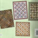 """Quilt Instruction Pattern Booklet-Rolling Along Easy Quilts from 2 1/2"""" Strip"""