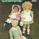 "Crochet Pattern Booklet-33"" Crochet Cousins Doll & Clothes"