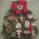 Cross Stitch Pattern Booklet-Victorian Christmas Treasure-Christmas Orn.-Tags