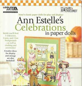 Ann Estelle's Celebrations in Paper Dolls-Mary Englebreit