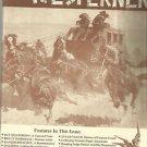 THE WESTERNER-Bat Masterson: A Gun & Cane-Western Artist-Stagecoach History-Wago