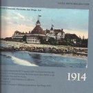 History Book-Hotel Del Coronodo-Wish You Were Here-History in Vintage Postcards