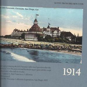 History Book-Hotel Del Coronodo-Wish You Were Here-History in Vintage Postcards