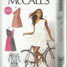 Plus Size Easy McCall's Pattern-Misses Dresses-16-18-20-22-24  Summer UNCUT