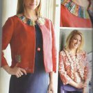 INDYGO JUNCTION PATTERN-The London Jacket   S-2XL