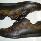 New Men Louis Vuitton Check Shoes Sneakers US 10 EU 43