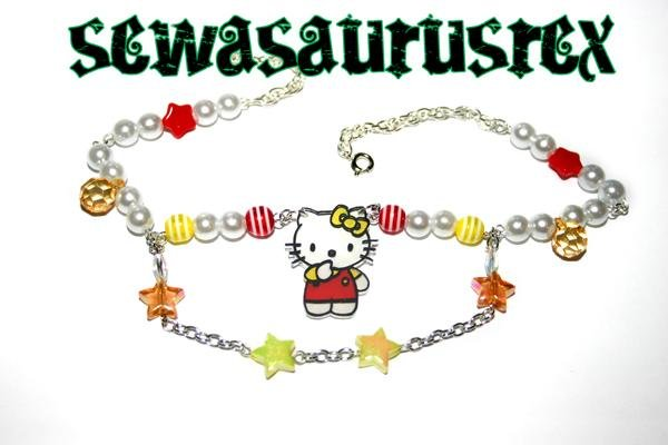 Kitty Necklace (Yellow)