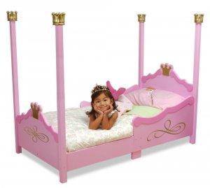 KidKraft  Princess Toddler Cot KK76121 Pink