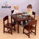 Kidkraft Childs  Pecan Farmhouse Table & 4 Chairs KK21451