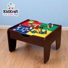 KidKraft Train/Lego Table Espresso  2-in- 1 Activity Table KK17577