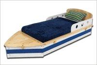 KidKraft  Boat Toddler Cot   w/Storage KK76251   Multi