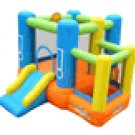 Kidwise Little Star Multi Color Bounce House w/Slide & Ball Pit  KW301
