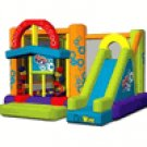 Kidwise Multi Color  Double Shot Inflatable Bouncer KWJC-201