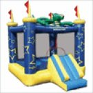 Kidwise Multi Color  Draco The Magic Dragon Inflatable Residential Dry BouncerFJC 401