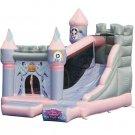 KIDWISE Princess Enchanted Castle w/Slide Bounce House KWSS-PR205 Multi