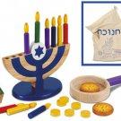 Kidkraft Chanukah Set Wooden Pretend Playset - Jewish Toy KK62905 Multi
