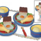 Kidkraft Shabbat Dinner for Two Wooden Pretend PlaysetKK62903 Multi