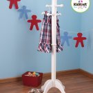 KidKraft White Deluxe Wooden Clothes Pole 19255