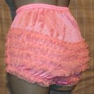 PINK ADULT SISSY RUFFLE RHUMBA PANTIES FRILLY MEDIUM