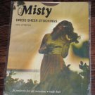 NYLONS Vintage Nylon Stockings MISTY size 10-11 Length  34 inches NEW OLD