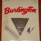 VINTAGE BURLINGTON PANTYHOSE  MEDIUM - BLACK  discontinued