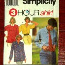 Simplicity 8068 Misses Shirt and Tie  size 6-12
