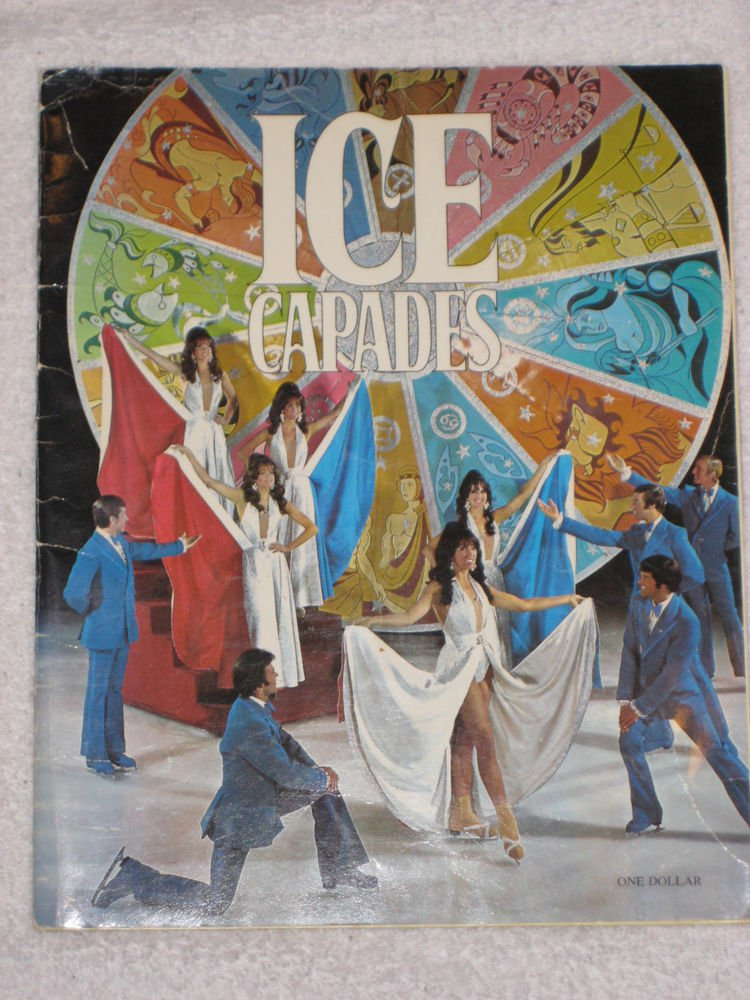 Ice Capades 1971 Vintage Original Program