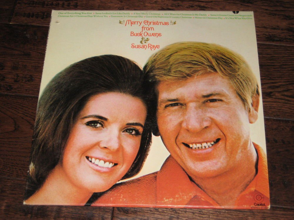 MERRY CHRISTMAS FROM BUCK OWENS AND SUSAN RAYE CAPITAL ST837