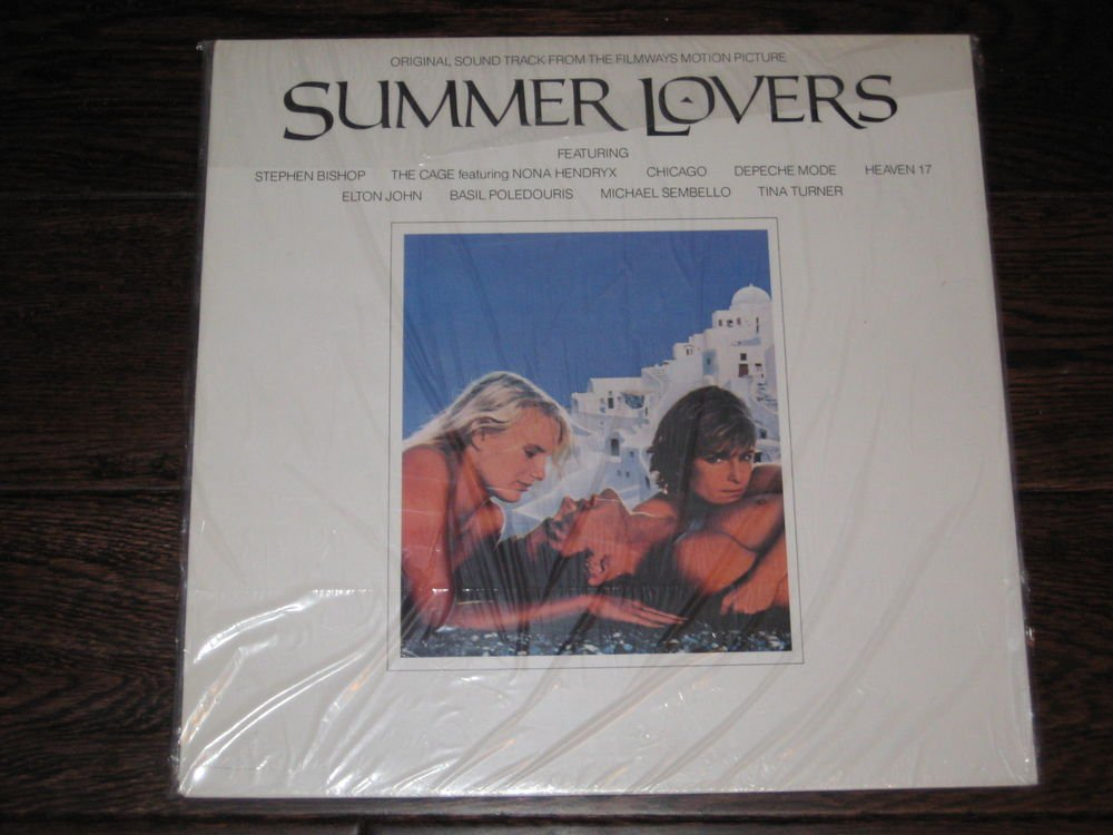 SUMMER LOVERS LP 1981  WARNER BROTHERS STEREO