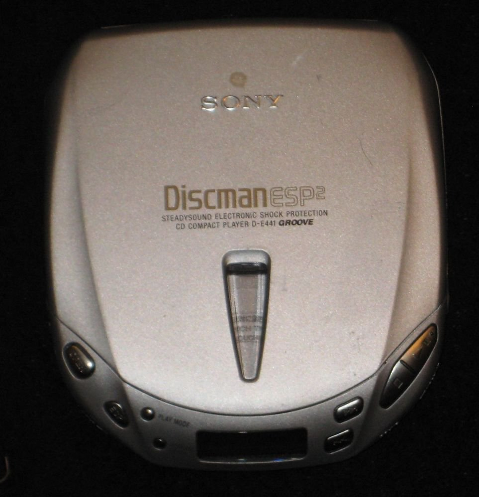 SONY CD DISCKMAN D-E441 ESP 2  WORKS GREAT  CD PLAYER
