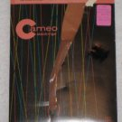 Vintage Nylon Stockings CAMEO  size 9 1/2-10  NEW OLD Burlington Hosiery