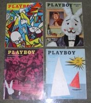 Playboy Magazines 1954 Issues