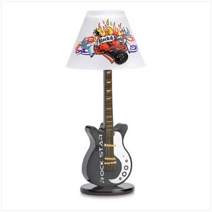 Rock and Roll Candle Lamp