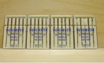 20 Schmetz Metallic 90/14 Needles 130MET