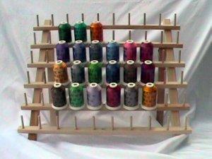 Robison-Anton Set of Twister Tweed Rayon Machine Embroidery Thread Set (21 mini king cones)