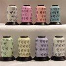 Robison-Anton Moonglow Machine Embroidery Thread Set (8 mini-king cones, 500 yards)