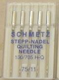 150 Schmetz Quilting 75/11 Needles 130/705H-Q