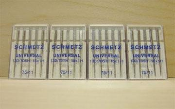 100 Schmetz Universal 75/11 Needles 130/705H 15X1H