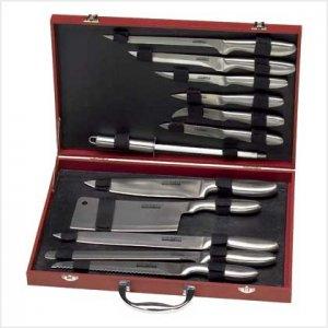 Kitchen Knife Set - 12 pc