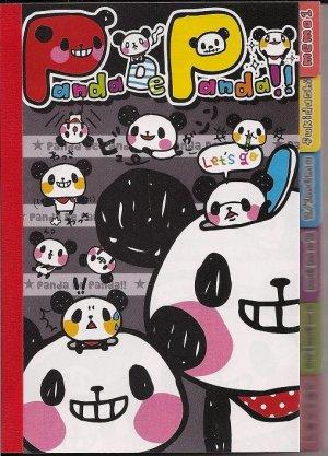 Q-Lia Panda De Panda Tabbed Memo Pad