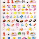 Pool Cool Sparkly Miscellaneous Items Schedule Sticker Sheet