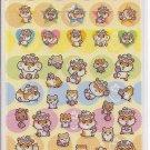 Sanrio Corocorokuririn Colorful Dots Sticker Sheet