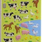 Mind Wave Farm Animals Sticker Sheet