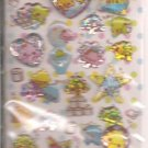 Crux Colorful Unko Poop 3D Sticker Sheet
